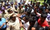 'Hyderabad varsity students, faculty beaten up in police custody'