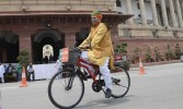 Walk and cycle to ward off air pollution