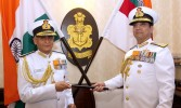 Sunil Lanba takes over as Indian Navy chief