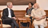 PM Modi, Tim Cook discuss plans to manufacture in India