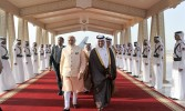 Good monsoon in India this year, Modi tells Indians in Qatar