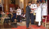 Virat Kohli, Deepa Malik, Sreejesh receive Padma Shri