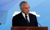Brazil's President Michel Temer says charges against him 'groundless'