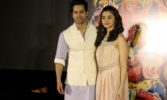 Alia Bhatt, Varun Dhawan launch Ganapati song from 'Bhikari'