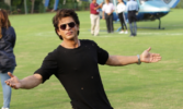 SRK 'stands in' for Aamir Khan, Kiran Rao at Water Cup