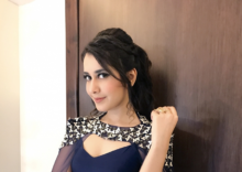 Raashi Khanna watches 'Jai Lava Kusa' with fans in London