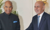 Afghan President arrives in India, meets Kovind