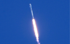 SpaceX launches satellite with third reused rocket