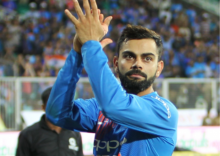 Virat Kohli asks after TV crew hit by Shami delivery